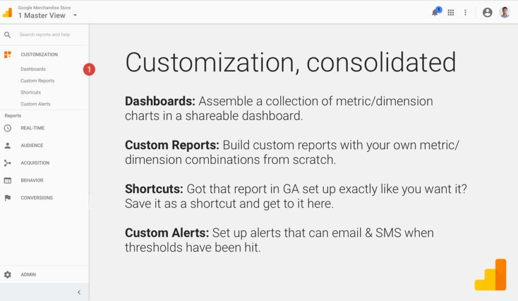Design Änderungen Google Analytics Benutzerfreundlichkeit
